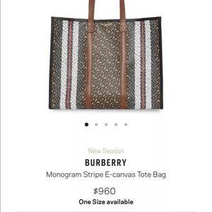 Burberry Monogram Tote
